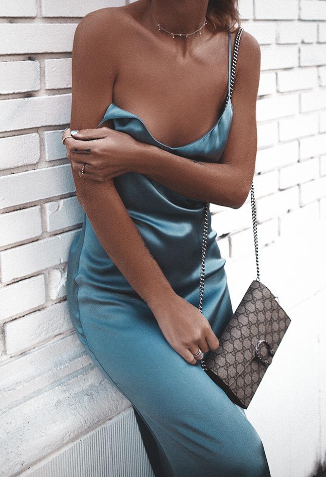 Native Fox - Jennifer Grace : Silk - Photo 1: Celine, Gucci, Native Fox x Mejuri, Reformation