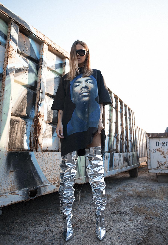 Native Fox - Jennifer Grace : Snoop - Photo 1: Balenciaga, Celine, Vetement