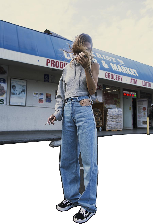 Native Fox - Jennifer Grace : Y/Project - Photo 5: Gucci, Vans, Y/Project