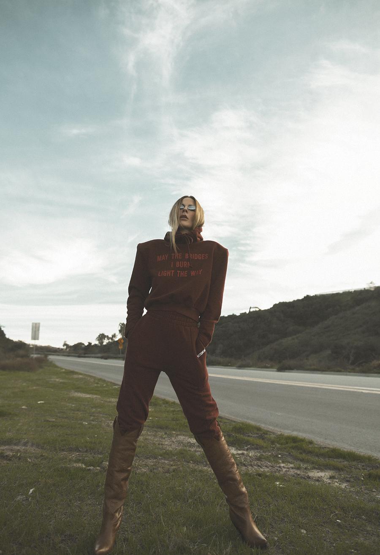 Native Fox - Jennifer Grace : Space Cowgirl - Photo 1: Acne, Vetements