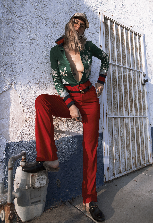 Native Fox - Jennifer Grace : GG - Photo 1: Gucci
