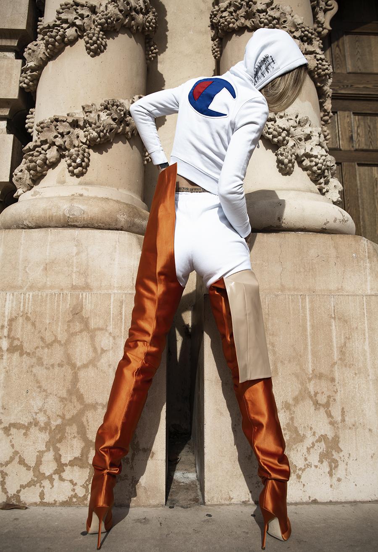 Native Fox - Jennifer Grace : L'Orange - Photo 1: Vetements
