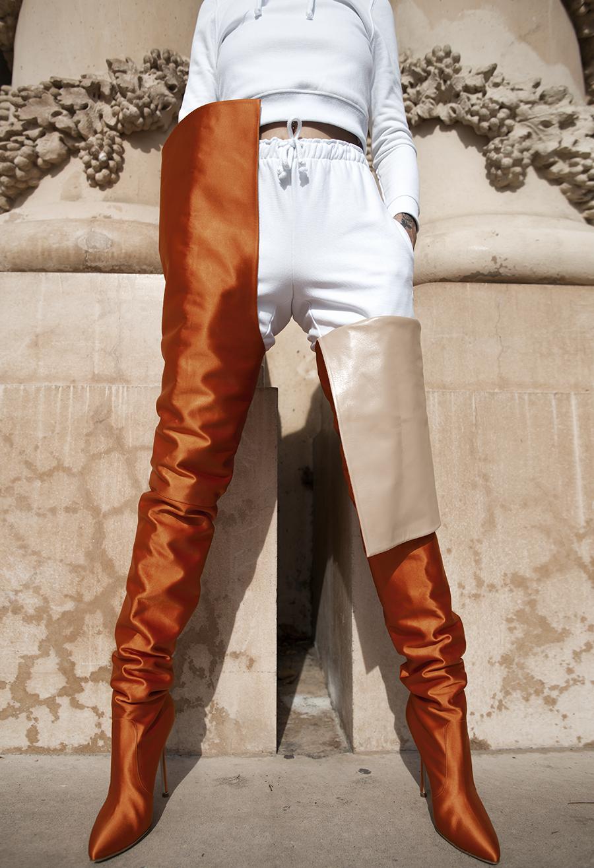 Native Fox - Jennifer Grace : L'Orange - Photo 11: Vetements