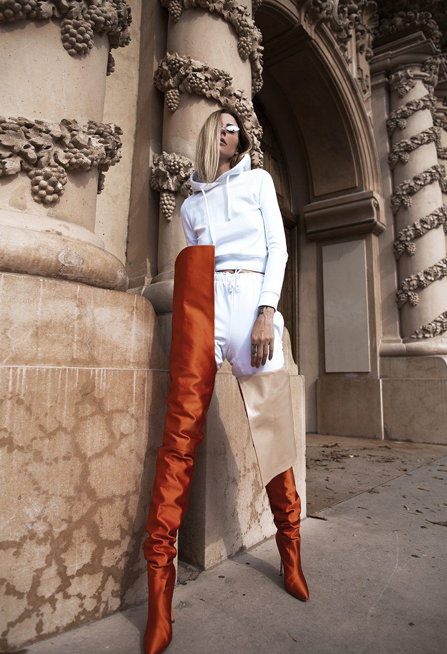Native Fox - Jennifer Grace : L'Orange - Photo 7: Vetements
