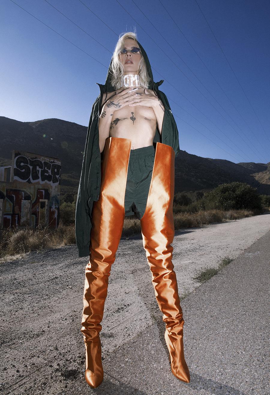 Native Fox - Jennifer Grace : Carotte - Photo 5: Acne, Reebok, Vetements